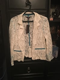 Women's blouse jacket brand new with tags size medium  Calgary, T2A 7R1