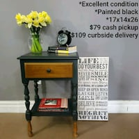 (1) Nightstand Night Stand 1 drawer Capitol Heights, 20743