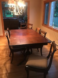 Antique Duncan Phyfe Dining Room Set Canton, 02021