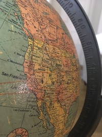 Antique 1980's-90s Replogle globe Alexandria, 22311