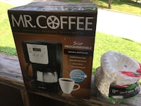 MR. COFFEE 5-Cup Programmable Coffee Maker - NEW
