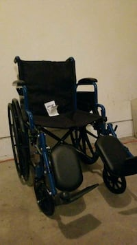 black and blue wheelchair Youngstown, 44512