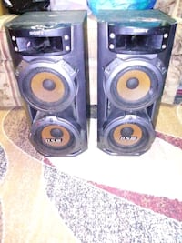 Sony DSW Speakers