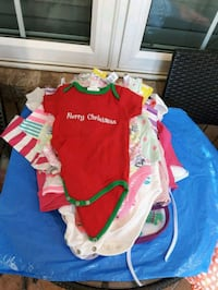 Clothes onesis different size nb-9 mnth, costume  d Mississauga, L5V 3B2