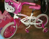 toddler's white and pink Hello Kitty bicycle Garden Grove, 92840