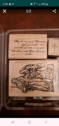 Stampin Up Holy Family Stamp set Virginia Beach, 23462