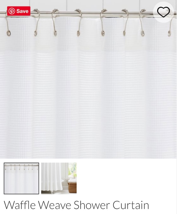 Used Pottery Barn Shower Curtain For Sale In Brookhaven