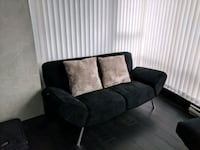 2 Suede sofas name your price for both Vancouver, V6B 6H6