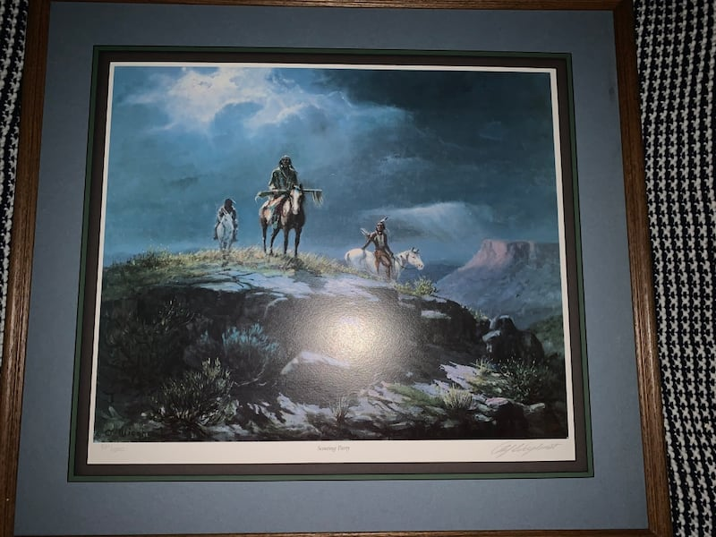 Vintage Painting with artist signature 6d797f02-5f19-401b-a40b-20efaac71394