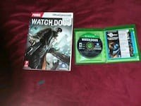 two Xbox One game cases Great Bend, 67530