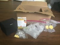 white and yellow Medela breast pump set Woodbridge, 22192