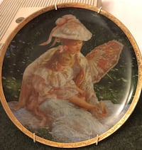 "Sandra Kuck's ""A Mother's Love"" plate. Collegeville, 19426"