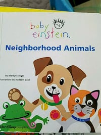 Baby Einstein Nieghborhood Animals book Howell, 48843