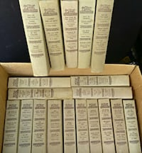 19 detective book club books from 1950's....202x52 Woodstock, 22664
