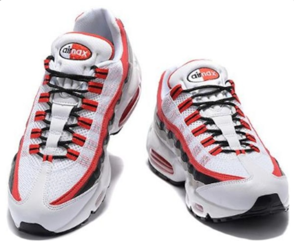 Nike Air Max 95 Essential WhiteUniversity Red Black Wolf