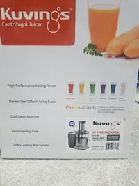BRAND NEW - Kuvings Juicer Chantilly, 20151