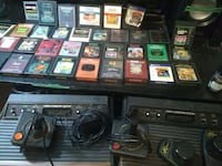 Atari game systems original and 2600 both work all games controllers  Knoxville