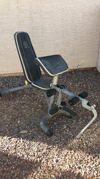 Dumbbell Weight Bench with Preacher Pad and Curl Yoke