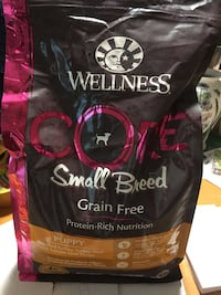 Wellness core small breed puppy food Centreville, 20120