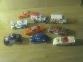 assorted car die-cast model collection