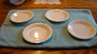 Homer Laughlin Colonial White Bread & Butter Plates Perryville, 21903