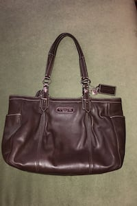 Coach Brown Leather Tote Columbia, 21044