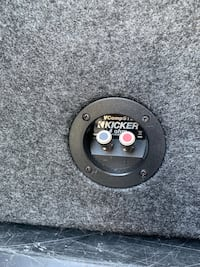 "12"" kicker ported box new Bradford West Gwillimbury, L0L 3C5"