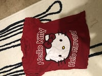 red and white Hello Kitty print shirt Montgomery Village, 20886