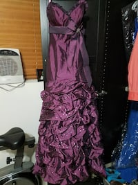 Purple Floorlength Gown Grayslake, 60030