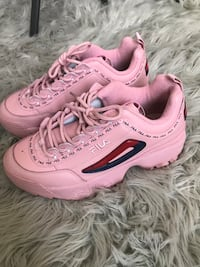 Fila size 8 sneakers color pink  Frederick, 21704