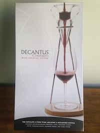 Decantus Connoisseur Wine Aerating System Calgary, T2Y 3A1