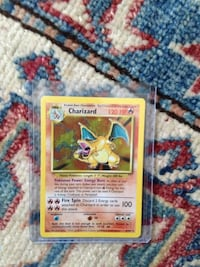 Charizard unlimited edition card
