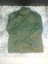 MEN'S XXL MILITARY STYLE JACKET W/ LINER AND HOOD 231 mi