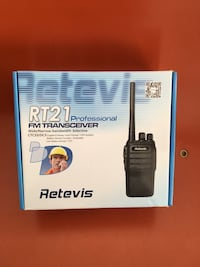 15 walkie talkies (Retevis RT21 2-way radios) San Francisco, 94110
