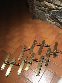 Brass door levers - set of ten Toronto, M9V 2S5