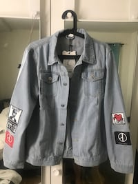 Denim jacket, M Oslo, 0191