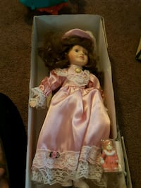 Limited collection porcelain doll Concord, 94520