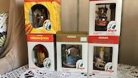 Noma collectables that turn when hooked up to Christmas lights. There are 5 total for $20.00