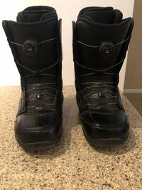 Pair of black snowboard  boots Scottsdale, 85257