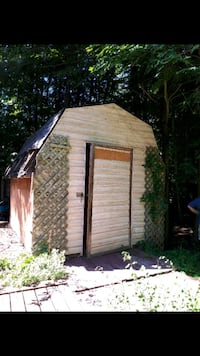 12x12 shed can drop off first come  Marmora, K0K 2M0