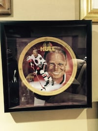 Bobby Hull collector plate. Limited Edition. Certificate of authenticity. Vaughan, L6A 4C9