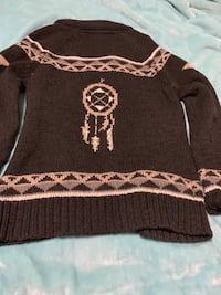 Dream Catcher zip-up sweater