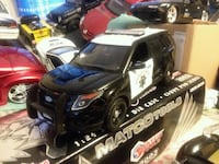 124scale New no Box California highway patrol Car.
