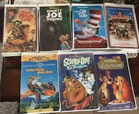 VHS Kid's Movies Brentwood