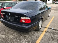 BMW - 5-Series - 2001 SOLD AS IS not running Toronto, M6H 2A9