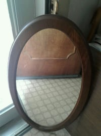 OVAL  WOODEN Mirror 36 by 19  Silver Spring, 20904