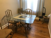 Dining room table and 4 chairs Baltimore, 21229