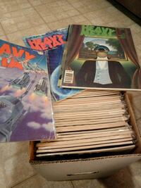RARE Heavy Metal Magazine Collection New York, 10010