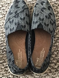 Toms sneakers; size is big for me ; tag still intact Calgary, T2N 3Y7