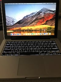 "Black and gray laptop computer 13"" MacBook Pro immaculate condition hardly used year 2015 like new! Retina display ! East Chicago, 46312"